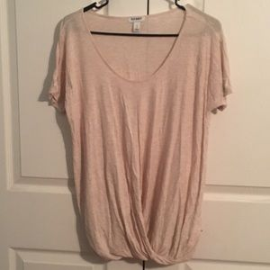 Old Navy faux wrap t-shirt